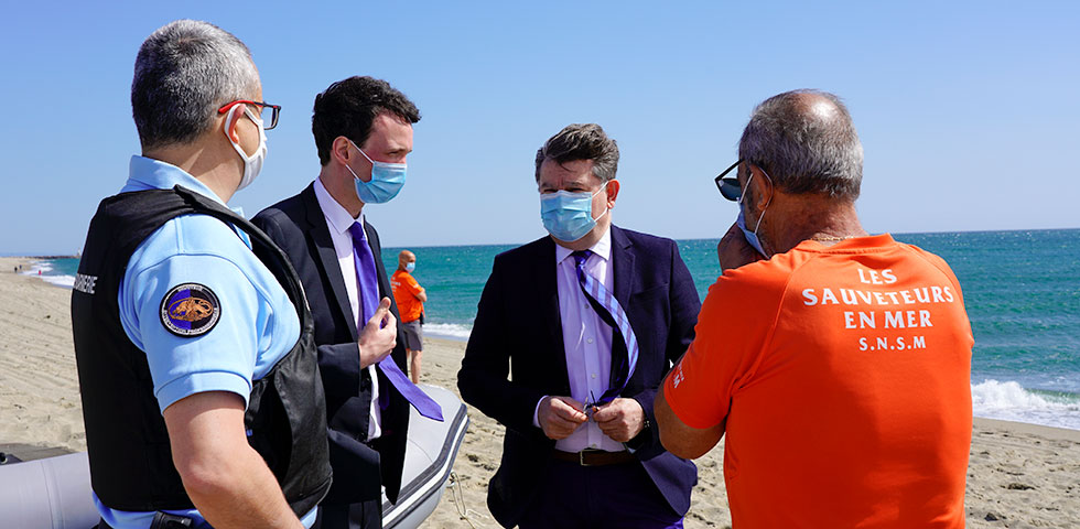 Réouverture des plages et validation du dispositif sanitaire